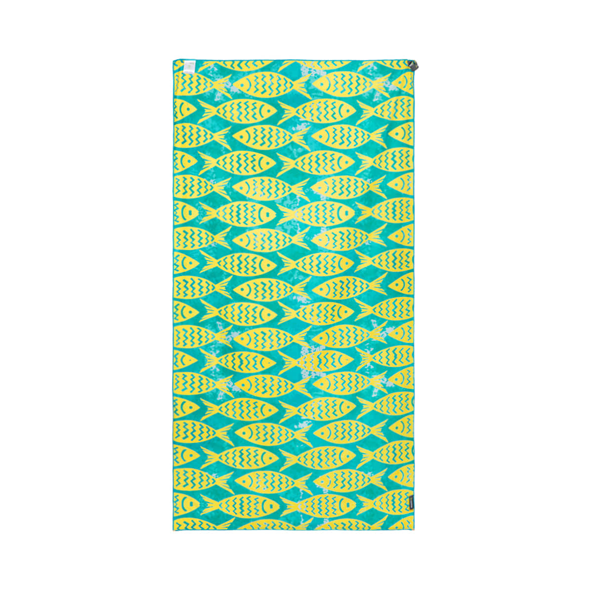 BEACH TOWEL Yellow Green