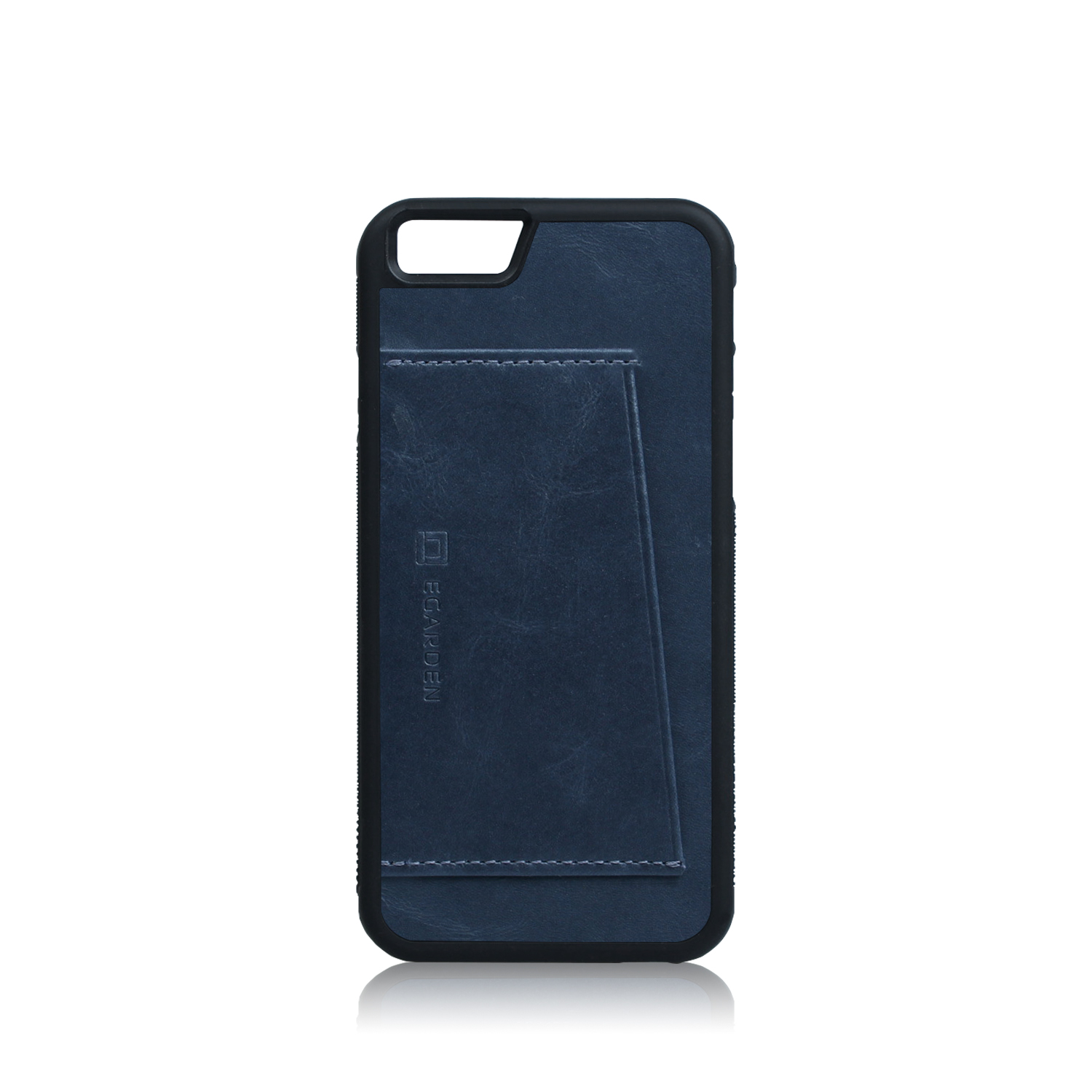 [에가든]iPhone6S/6S+ Back Cover Case- 1 Card_Blue Steel