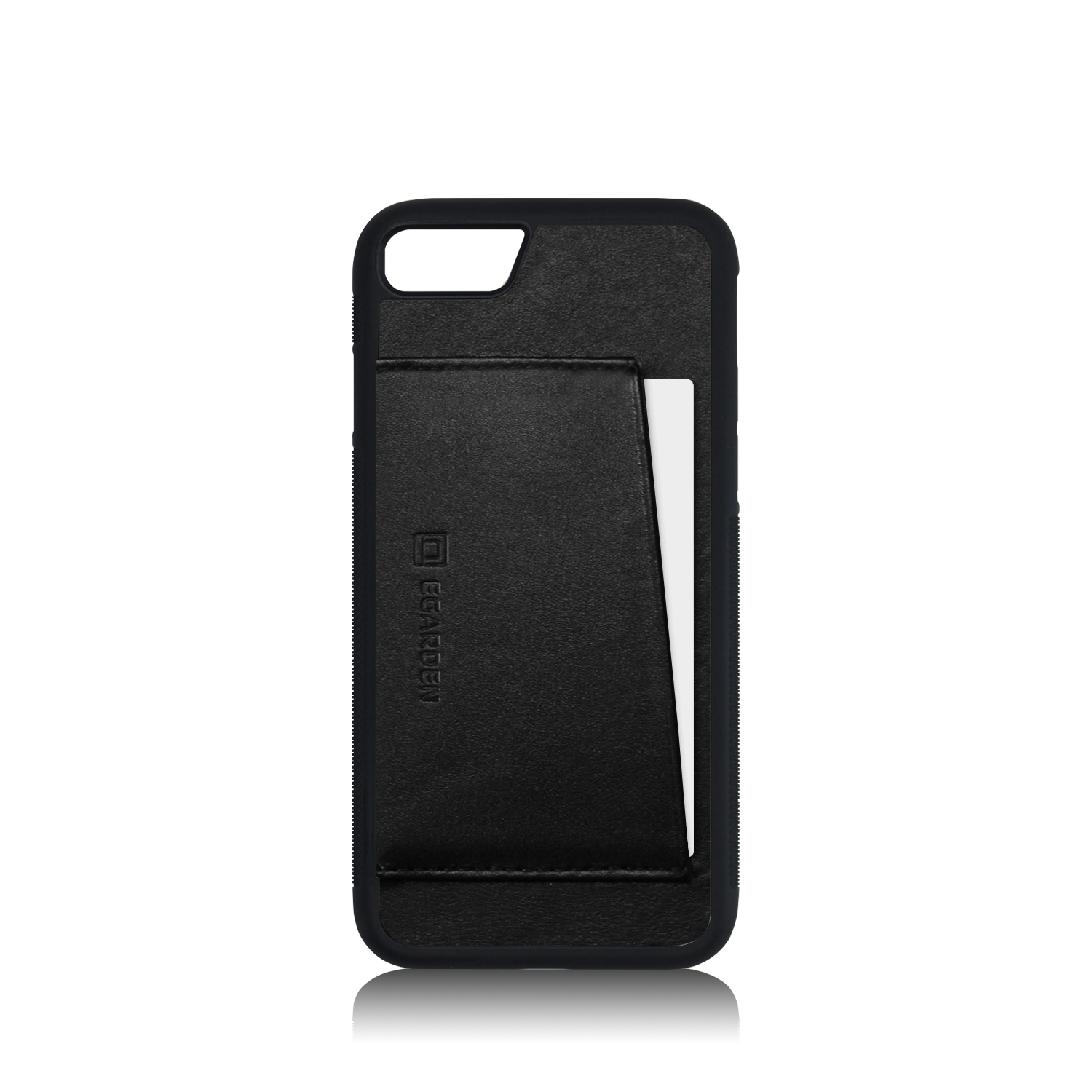 [에가든]iPhone7/8/7+/8+ Back Cover Case_Black