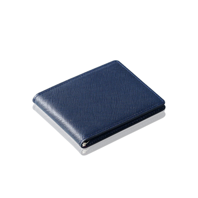 [에가든]Money Clip Slim_Navy