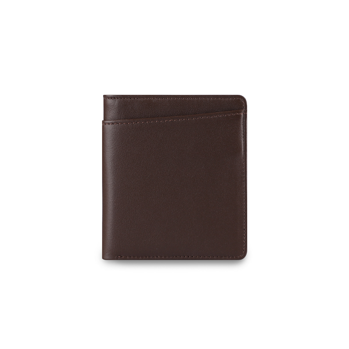 THE CITY WALLET BROWN