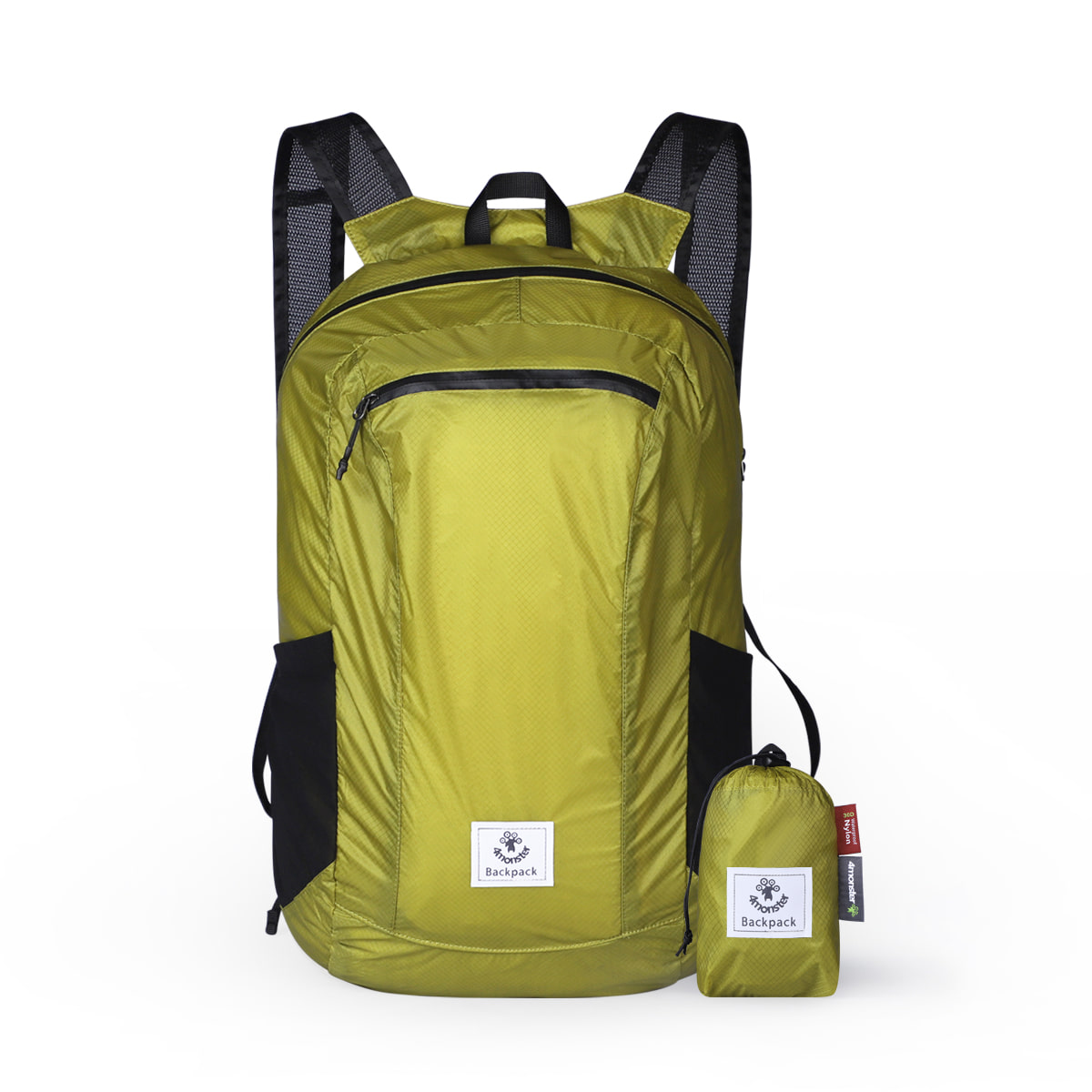 FOLDING BACKPACK 24L_APPLE GREEN