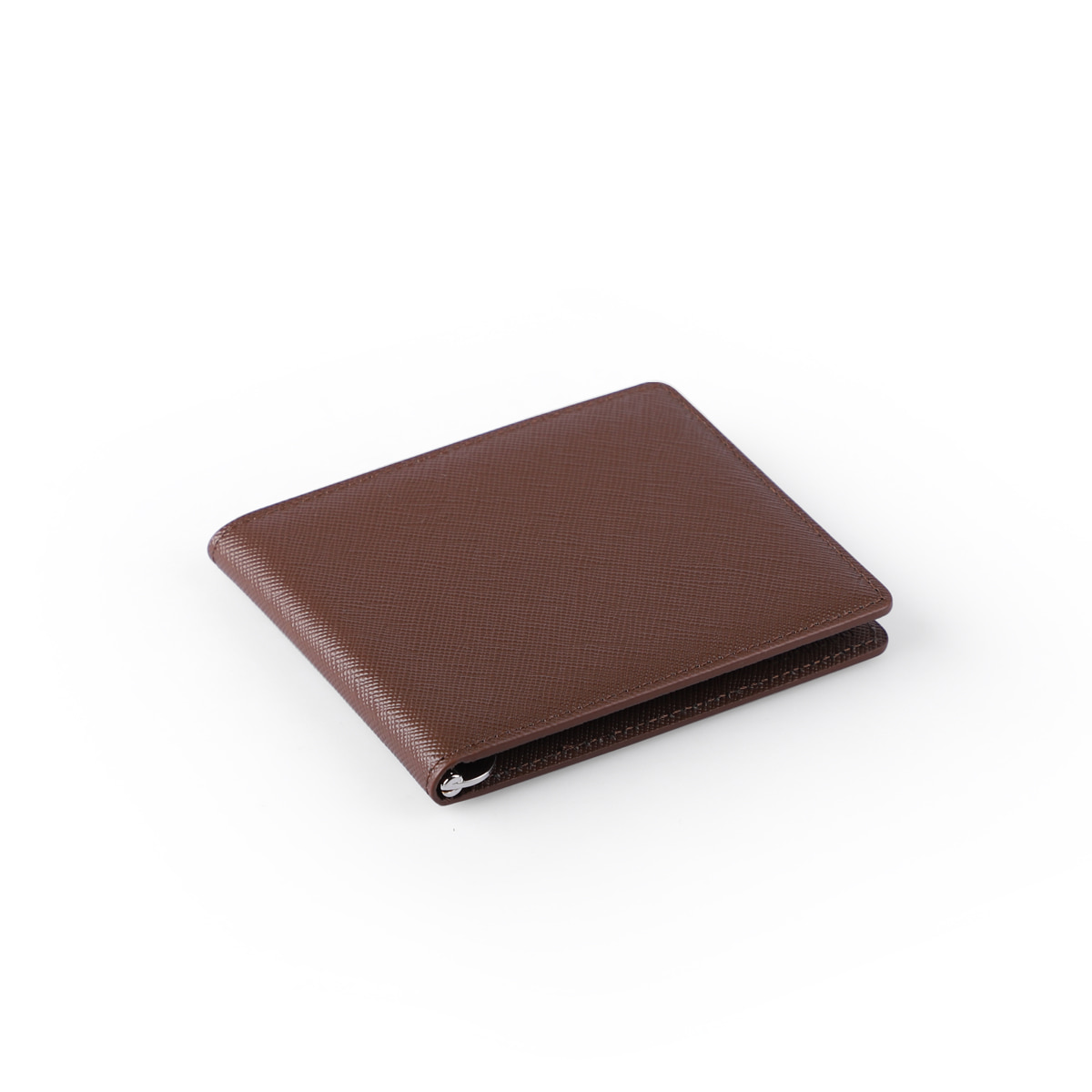 Money Clip Slim Brown